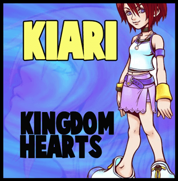 How to Draw Kairi from Kingdom Hearts in Easy Steps