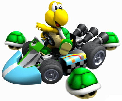 How to Draw Koopa Riding His Car from Mario Cart Drawing Tutorial