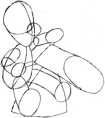 How To Draw Luigi Riding A Motorcycle Bike From Wii Mario Kart