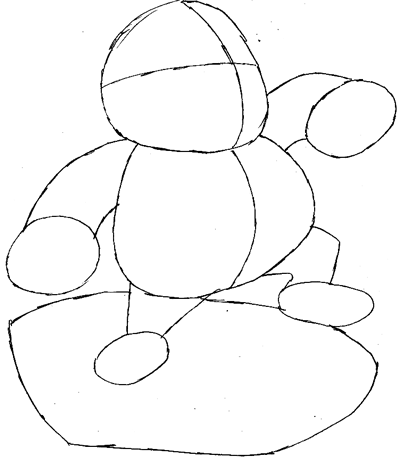 How To Draw Wario And Car From Wii Mario Kart Game Drawing Lesson