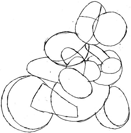 Step 7 : Drawing Yoshi in Easy Steps Tutorial