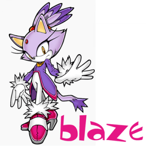 How to Draw Blaze the Cat from Sonic Step by Step Drawing Lesson