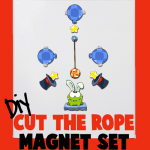 DIY Make Your Own Cut the Rope Om Nom Mangets Sets