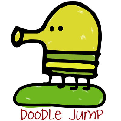 How to Draw Doodler from Doodle Jump Step by Step Drawing Tutorial