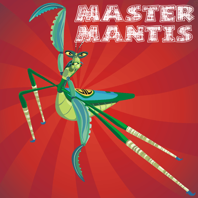 How to draw Master Mantis from Kung Fu Panda with easy step by step drawing tutorial