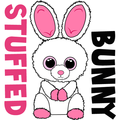 How to draw stuffed bunnies with easy step by step drawing tutorial