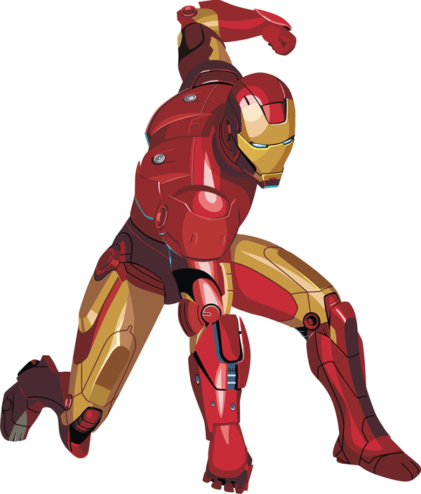 how to draw iron man with easy step by step drawing tutorial