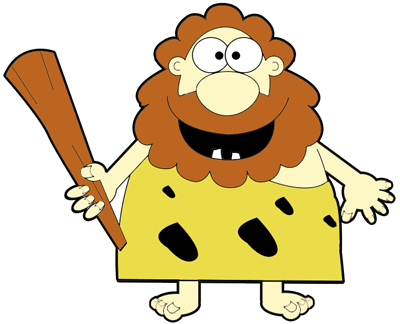 How to Draw Cartoon Caveman With a Club in Easy Steps Lesson