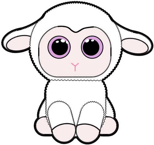 How to draw Baby Lamb with easy step by step drawing tutorial