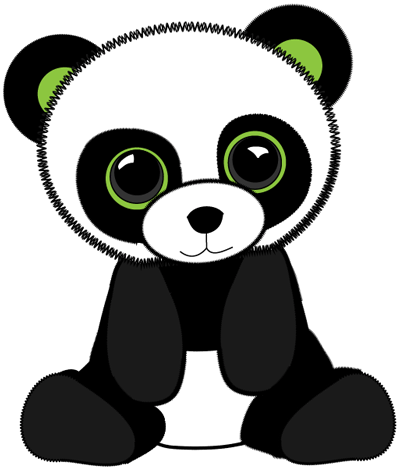 How To Draw Stuffed Baby Pandas With Easy Step By Step Drawing