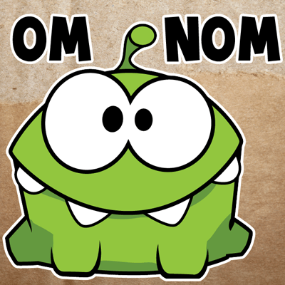How to Draw Om Nom from Cut The Rope with Easy Step by Step Drawing Tutorial