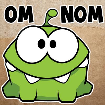 how to draw u nom nom