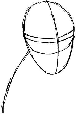 Step 1 : Drawing Beast from Marvel's X-Men Superhero Team Easy Steps Lesson