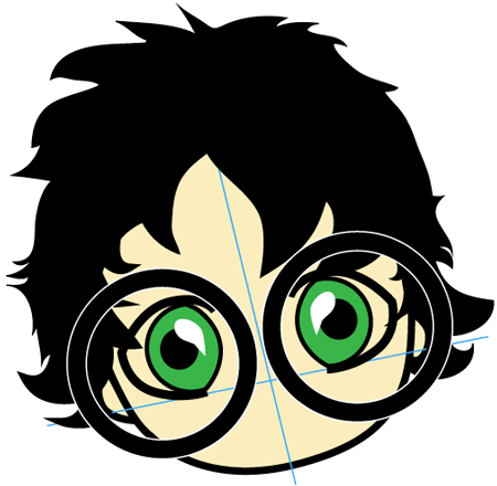 Step 4 : Drawing Baby Harry Potter in Easy Steps Lesson