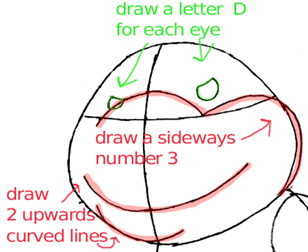 Step 5 : Drawing Bowser Jr. in Easy Steps Lesson