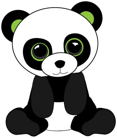 simple panda clipart - photo #37