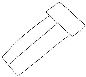 Step 1 : Drawing Waluigi on Motor Bike Lesson
