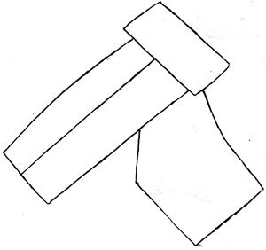Step 2 : Drawing Waluigi on Motor Bike Lesson