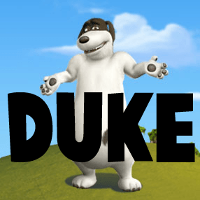 How To Draw Duke From Back At The Barnyard With Easy Step By Step