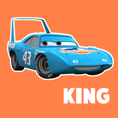 How to draw King from Pixar's Cars with easy step by step drawing tutorial
