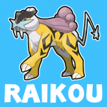 How to draw Raikou from Pokemon with easy step by step drawing tutorial
