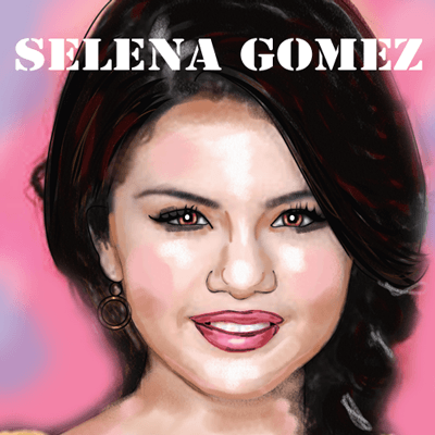 How to Draw Selena Gomez Wizards of Waverly Place
