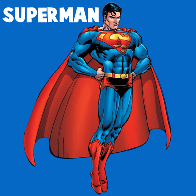 How to draw Superman with easy step by step drawing tutorial