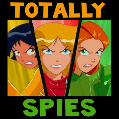 How to draw Clover, Alex and Sam from Totally Spies with easy step by step drawing tutorial