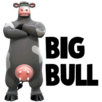 How to draw Big Bull from Back at the Barnyard with easy step by step drawing tutorial