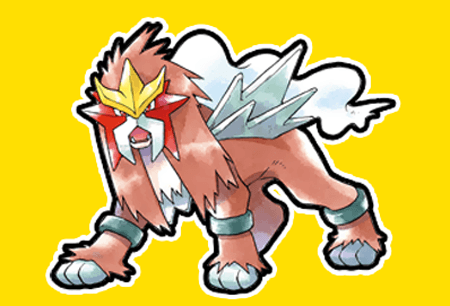 How to draw Entei from Pokemon with easy step by step drawing tutorial