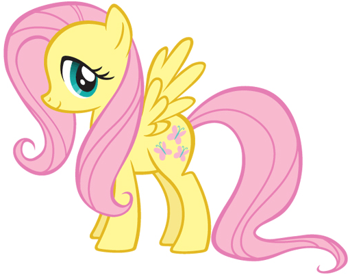 How to draw Fluttershy from My Little Pony with easy step by step drawing tutorial