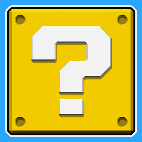 Scribble Drawing Questions : How to draw a question mark box from nintendo s super