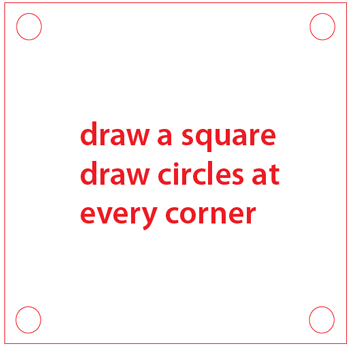 Step 1 : Drawing a Question Mark Box from Nintendo's Super Mario Bros. Easy Steps Lesson