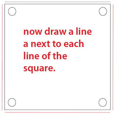 Step 2 : Drawing a Question Mark Box from Nintendo's Super Mario Bros. Easy Steps Lesson