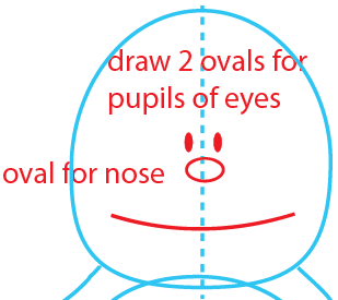 Step 3 : Drawing Garfield from The Garfield Show Easy Steps Lesson