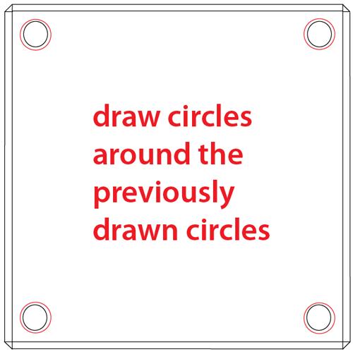 Step 4 : Drawing a Question Mark Box from Nintendo's Super Mario Bros. Easy Steps Lesson
