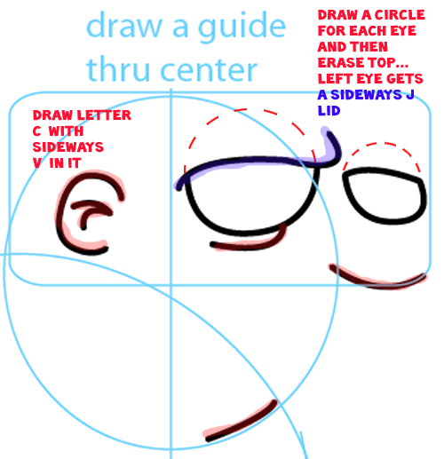 how to draw brad simpson step by step
