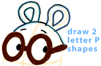 Step 5 : Drawing Arthur from PBS's Arthur Easy Steps Lesson