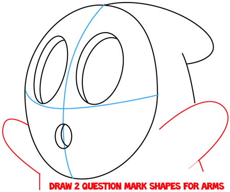 how to draw shy guy from nintendos super mario in