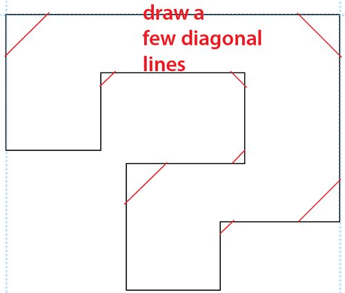 Step 6 : Drawing a Question Mark Box from Nintendo's Super Mario Bros. Easy Steps Lesson