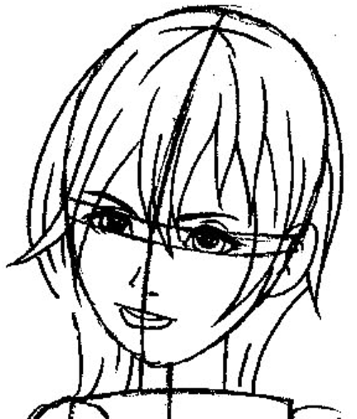 How to Draw Namine from Kingdom Hearts with Easy Step by ...