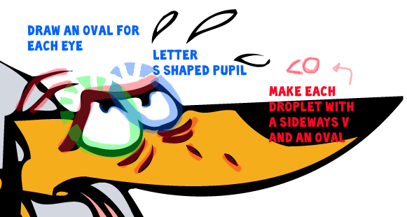 Step 8 : Drawing Big Dog and Little Dog from 2 Stupid Dogs Easy Steps Lesson