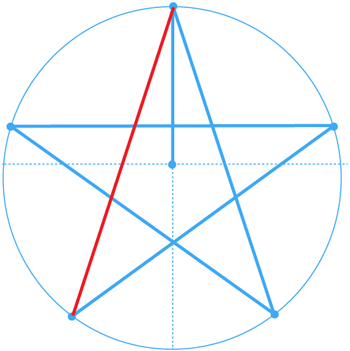 Step 8 : Drawing the Star from Nintendo's Super Mario Bros. Easy Steps Lesson