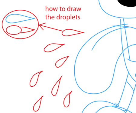 Step 9 : Drawing Odie from The Garfield Show Easy Steps Lesson