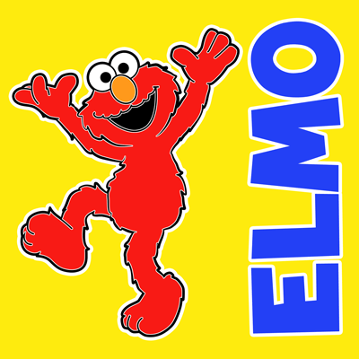 How to draw Elmo from Sesame Street with easy step by step drawing tutorial