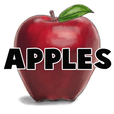 How to draw an Apple with easy step by step drawing tutorial
