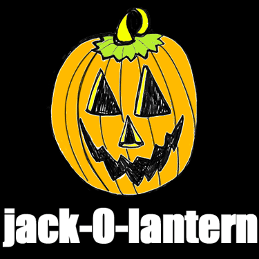 How to Draw Jack OLanterns and Pumpkins with Easy Step by Step