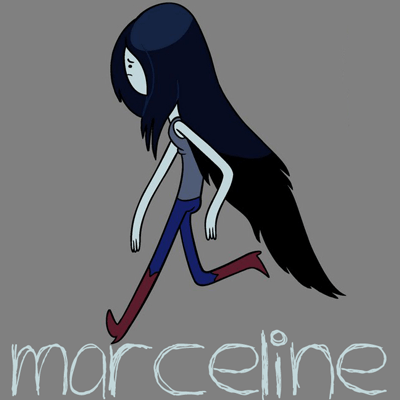 How to draw Marceline from Adventure Time with easy step by step drawing tutorial