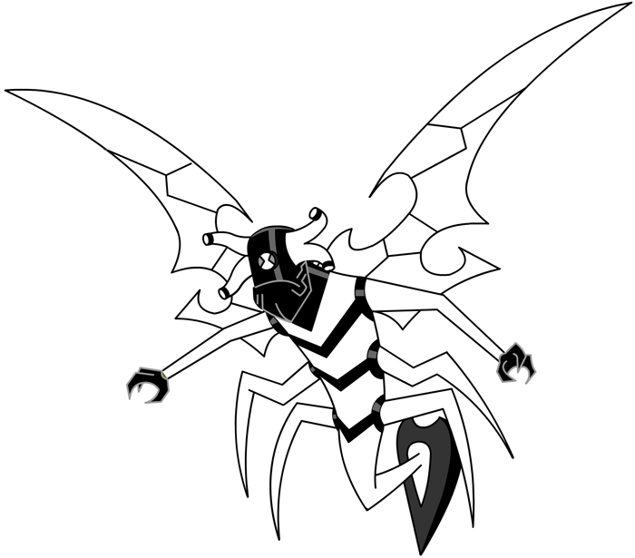 stinkfly coloring pages - photo#35