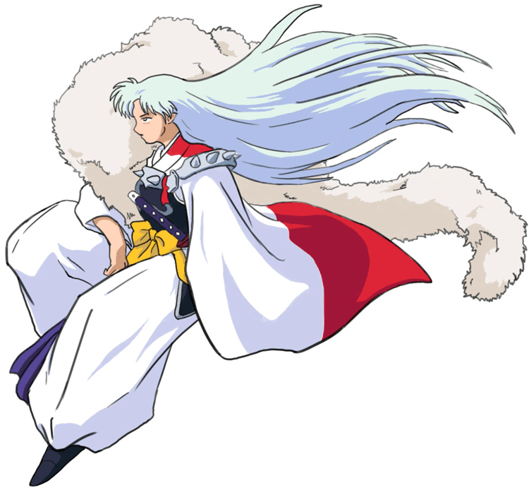 Step 9 : Drawing Sessohamaru from Inuyasha Easy Steps Lesson